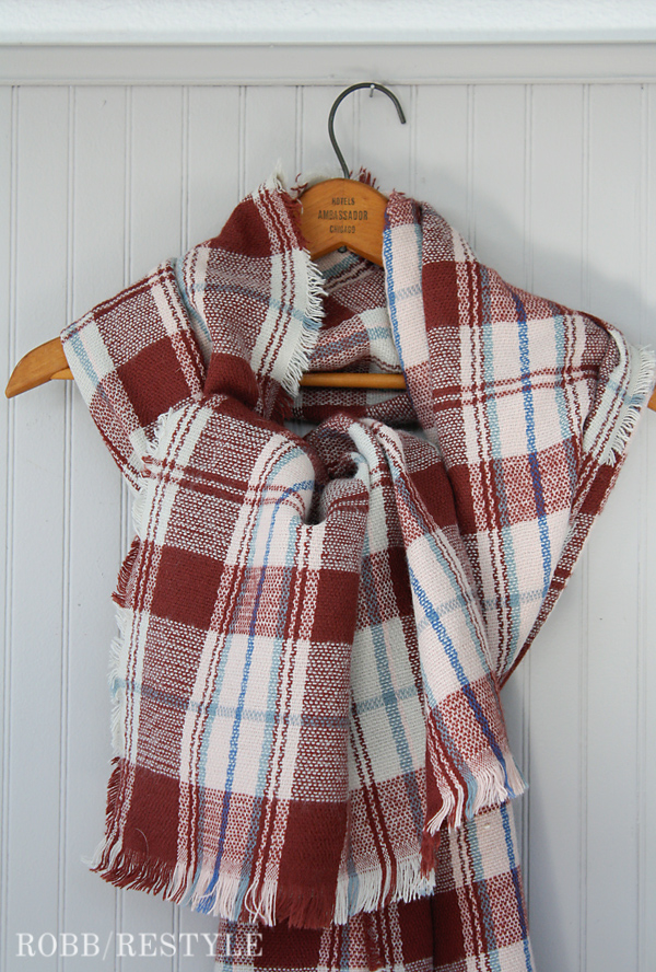 Stitch Fix Plaid Blanket Scarf