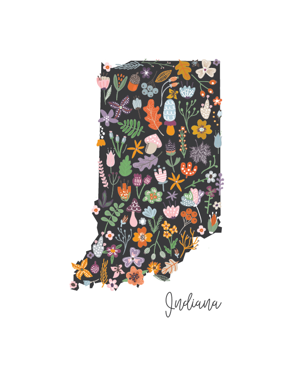Indiana Printable Download
