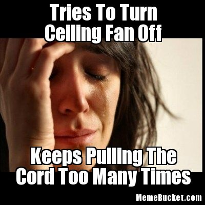 ceiling fan meme