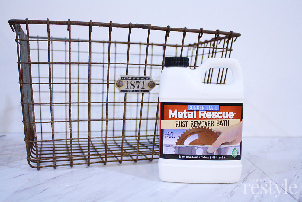 Metal Rescue Rust Remover Product
