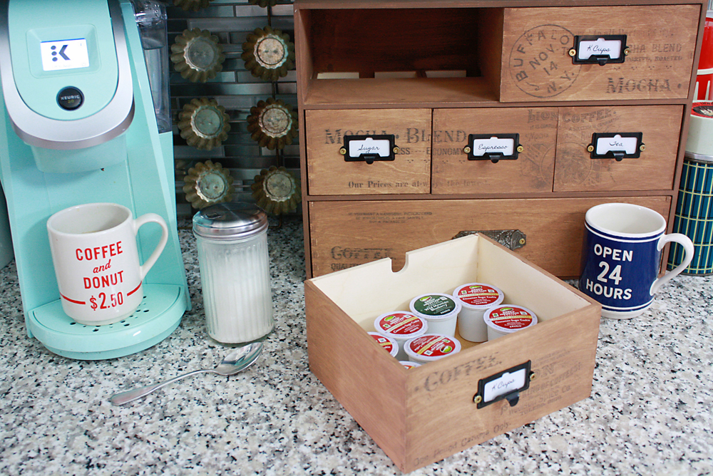 Ikea Moppe Hack Coffee Storage DIY