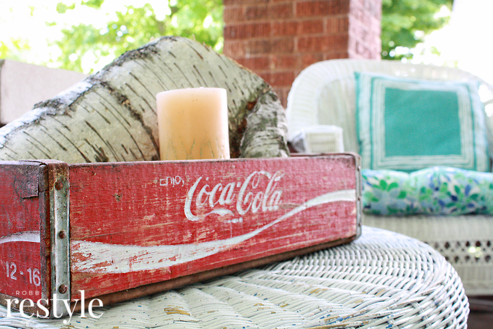coca cola soda crate