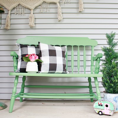 How to Paint Outdoor Furniture Fast