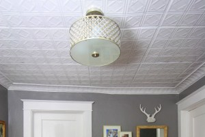 DIY Ceiling Updates
