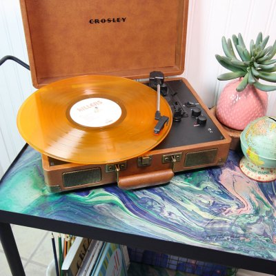 DIY Vinyl Record Storage