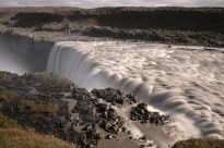Dettifoss is the biggest waterfall in Europe by volume.