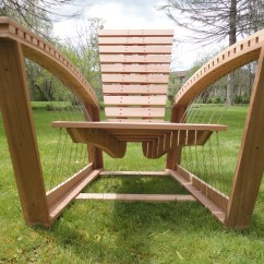 Modern Wood Chair Plans Indoor Hammock Stand Build Adirondack Diy Bed
