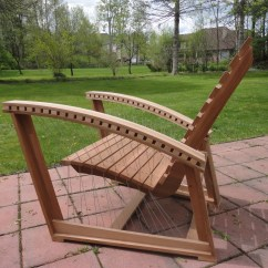 Adirondack Chair Plan Black Side Suspended Robby Cuthbert Design