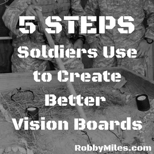 Army Vision Board