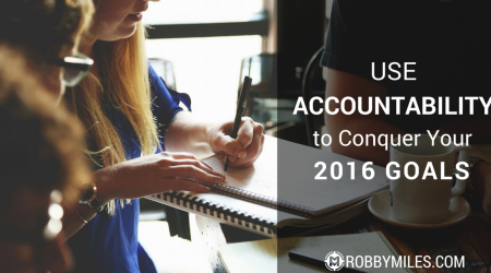 Use Accountability to Conquer Your 2016 Goals