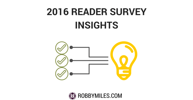 2016 Reader Survey Insights