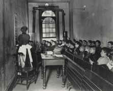 A Class at the Condemned Essex Market School