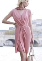 Robe drapée6