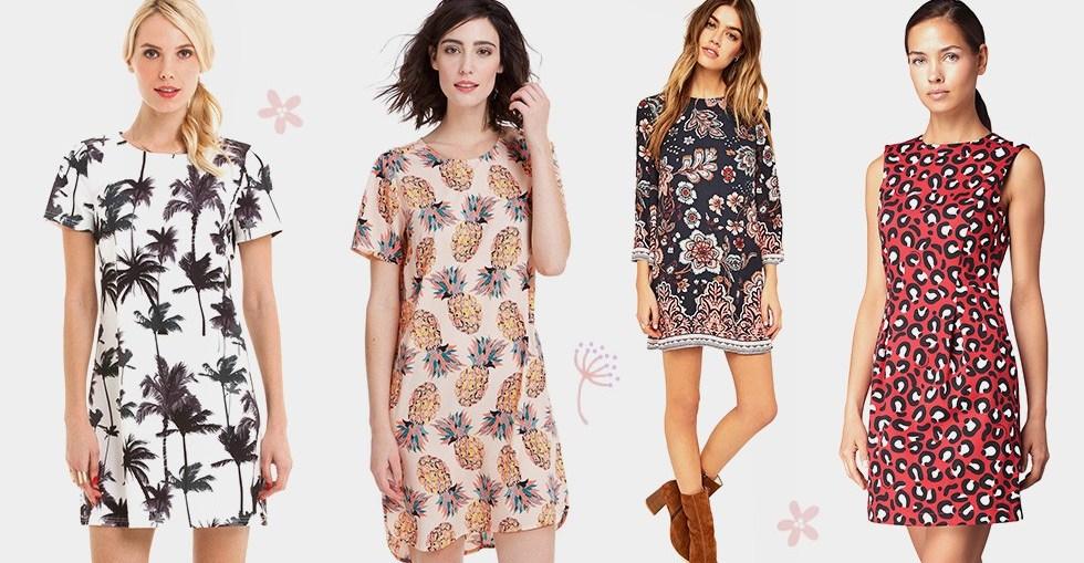 0af3ebdfc6e9 Les robes imprimées   les motifs tendances de cet été - Robe Mode