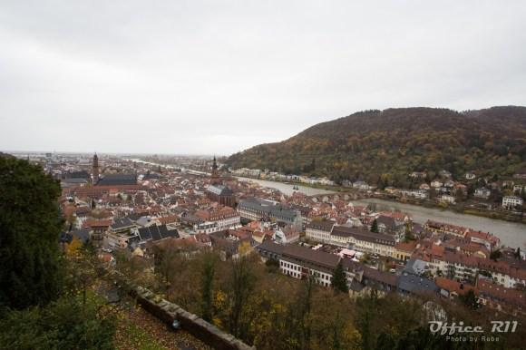 ハイデルベルグの街