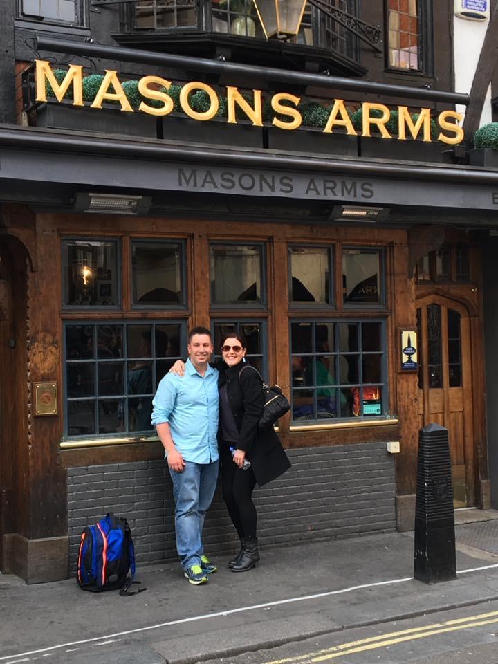 Mason's Arms in London England