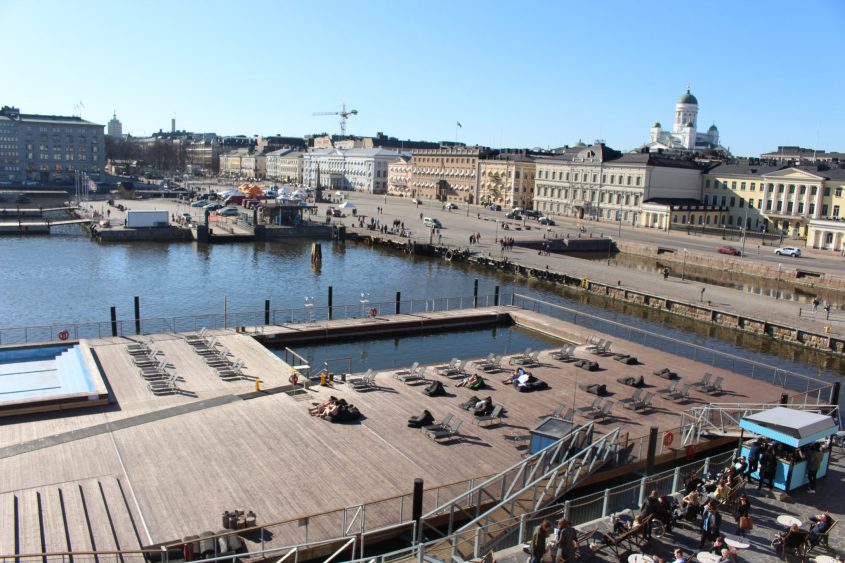 Allas Sea Pool Helsinki Finland Harbor