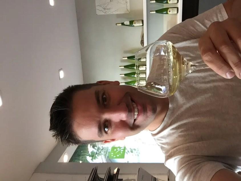 Domain Martin Jund in Colmar France wine tasting