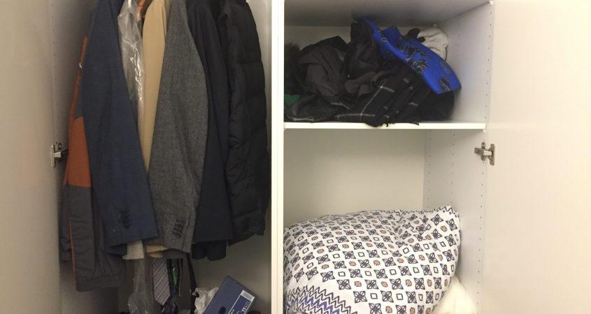 how to embrace minimalism dirty closet