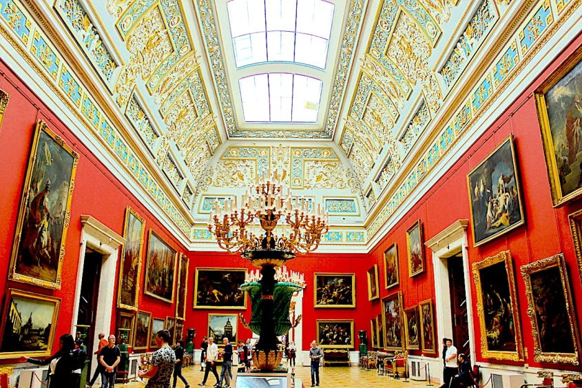 The Hermitage tips for a visit to a museum