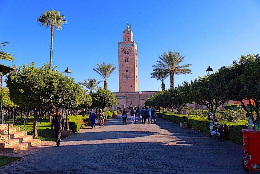 Koutoubia Mosque 3 days in Marrakech
