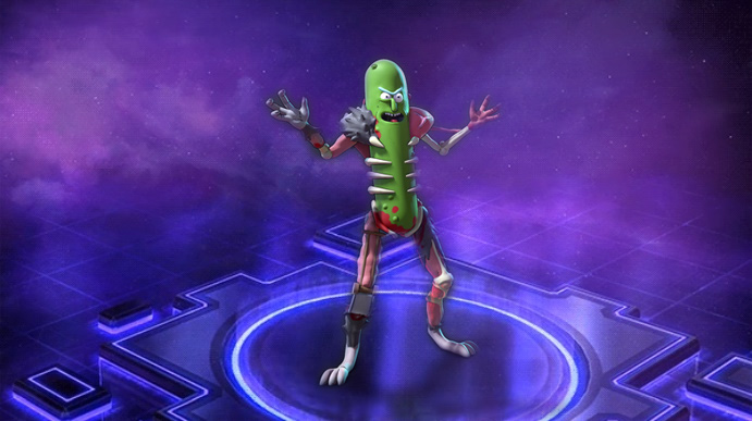 Pickle Rick JOINS THE NEXUS