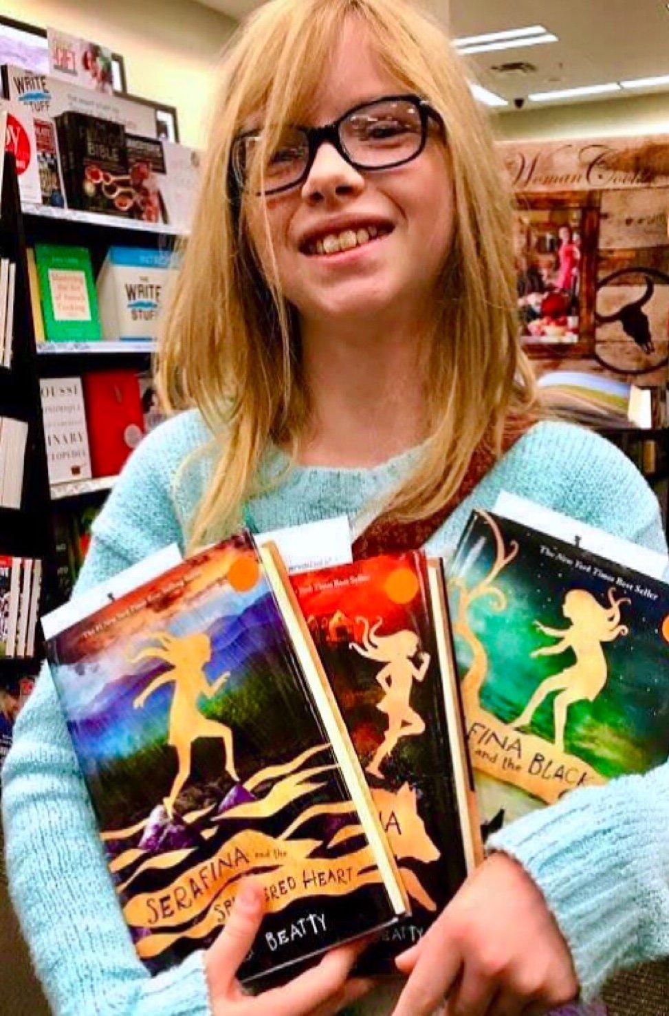 Box set of all three Serafina books