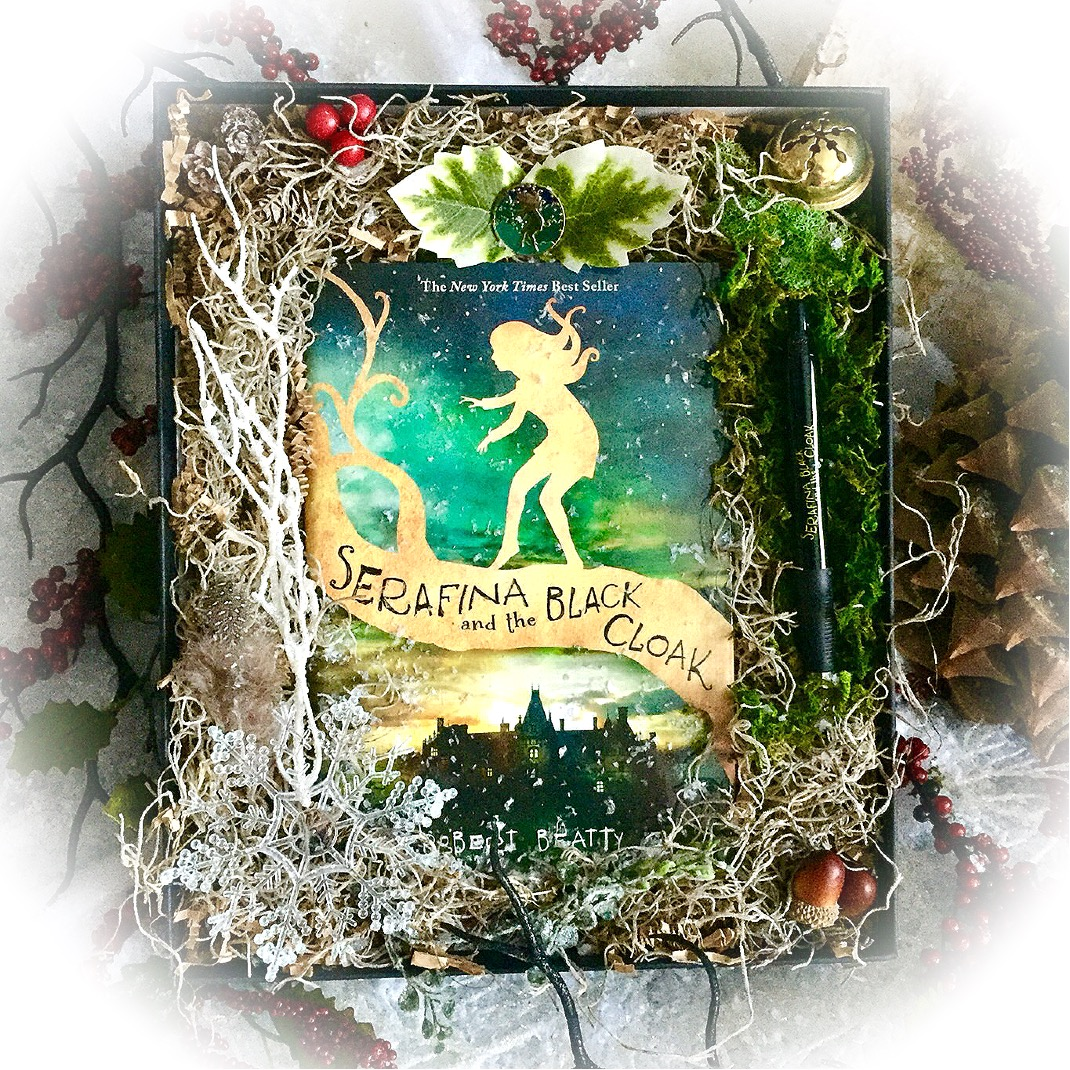 serafina-holiday-gift-box-serafina-and-the-black-cloak-robert-beatty-disney-hyperion-biltmore-estate-middle-grade
