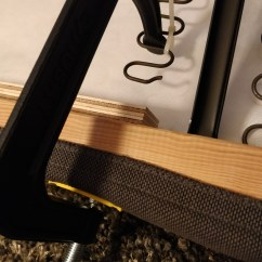 Sofa Spring Clip Strip With Lounge Ikea Couch Repair