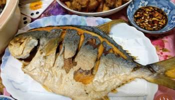 酥炸金鯧魚