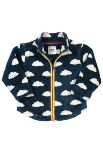 Fleecejacke Cloud Fleece für Kinder bei roberta organic fashion