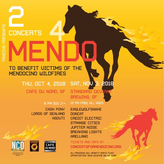 Concert For Mendocino