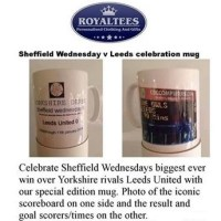 Sheffield Wednesday Mugs to Mark Cup Final Win Over Leeds   -   by Rob Atkinson