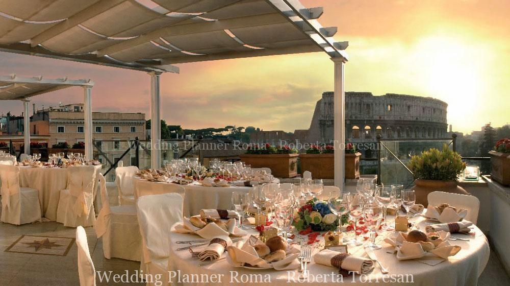 Matrimonio a Roma i migliori Roof Garden