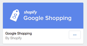 Google Shopping App Shopify RobertBotto.com