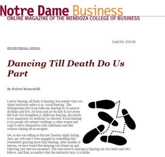 Notre Dame Business Magazine
