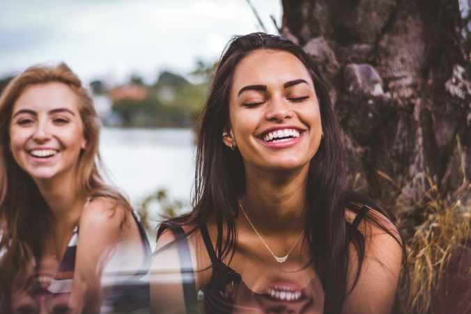 self help, happy, smile