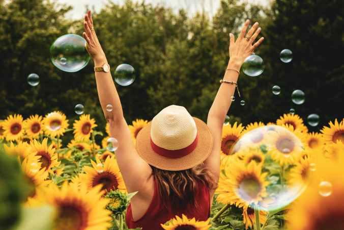happy, fun, hope