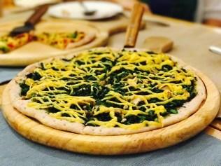 More vegan pizza!