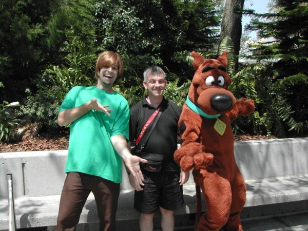 Scooby Doo Shaggy and Robert Crouch