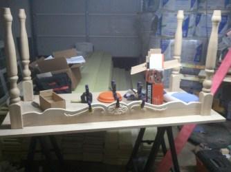 Wife's Oak Sewing Table (In Progress)