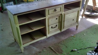 The Dresser from Ave D (Before)