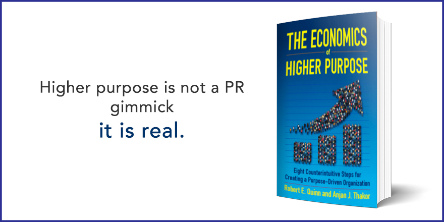 Higher purpose is not a PR gimmick, it is real.