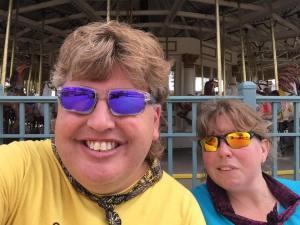 Robert and Michele Cedar Point