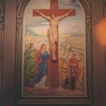 Crucifixion – Église Notre-Dame de Lorette à Lorette, Manitoba