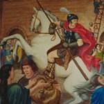 Centurion 5e siècle – détail Sainte-Geneviève aux portes de Paris