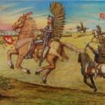 Polish Hussars lift the siege of Vienna 1683