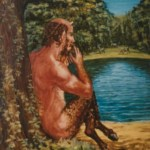 Satyre à la flute – Satyr playing the flute