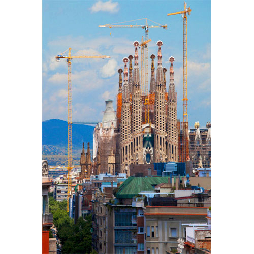 Sagrada de Familia, Barcelona, Spain