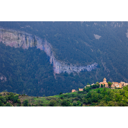 Mountain Town, Aragon, Spain